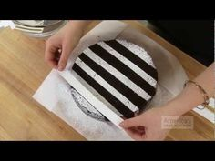 Super Quick Video Tips: Easiest Ways to Decorate a Cake with Powdered Sugar. For an impressive dessert, make it rain. Watch more Super Quick Video Tips at . ABOUT US: Located in Boston's Seaport District in the Chocolate Easter Cake, Eggless Chocolate Cake, Chocolate Drip Cake, Ice Cream Cone Cake, Ice Cream Birthday Cake, Cake With Cream Cheese, Easy Carrot Cake, Vegan Carrot Cakes, Birthday Cake Decorating