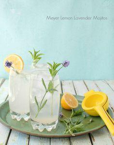 Meyer Lemon Lavender Mojito - BoulderLocavore.com #cocktail