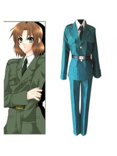 Axis Powers Hetalia Lithuania Torres Uniform Cosplay Outfits Costumes