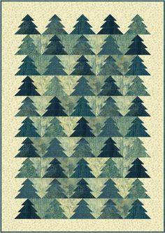 PC195 Pine Grove lap-size version made with Stonehenge Elements