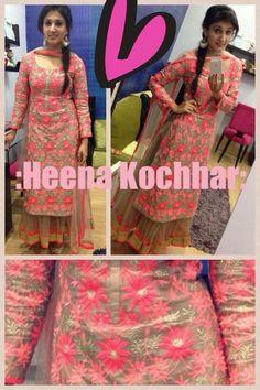 Punjabi Salwar Suits, Designer Punjabi Suits, Punjabi Dress, Patiala Suit, Anarkali Suits, Indian Designer Wear, Indian Suits, Indian Attire, Indian Dresses