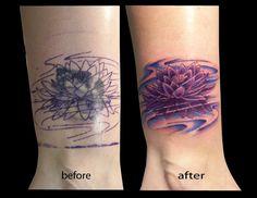 cover up tattoo designs | art portfolio - Artistry of Mike Harmon A.K.A. NECKBONE