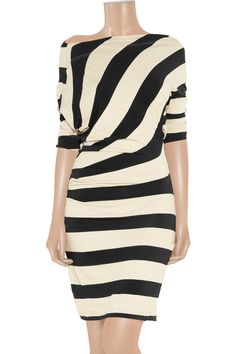Vivienne Westwood Anglomania   Arianna striped jersey dress   NET-A-PORTER.COM