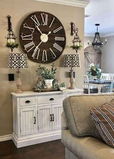Living Room Clocks Next Tables For Sale Finally I Was Looking Ideas On How To Decorate Around A Large Is The Place In Which Your Family Members Get Together It Also Commonly Used Welcoming Guest Designing And Decorating This
