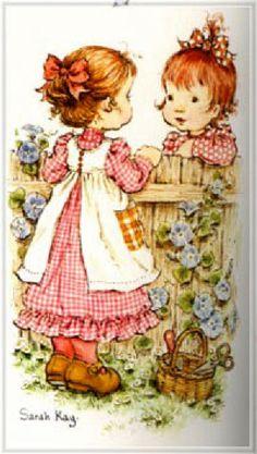 Sarah Kay album Decje novine Jugoslavija (n. Sarah Key, Holly Hobbie, Love Pictures, Vintage Pictures, Sarah Kay Imagenes, Illustrations, Illustration Art, Mary May, Hobbies For Women