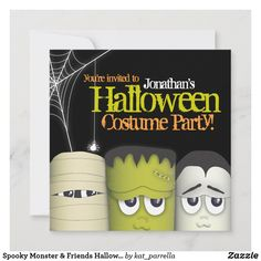 Halloween Costume Party Invitations, Holiday Invitations, Theme Halloween, Halloween Birthday, Halloween Costumes For Kids, Birthday Party Invitations, Invitation Ideas, Invites, Halloween Parties