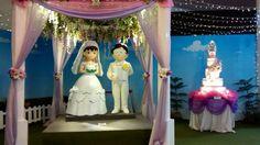 The marriage of Nobita & Shizuka in Jakarta, Indonesia