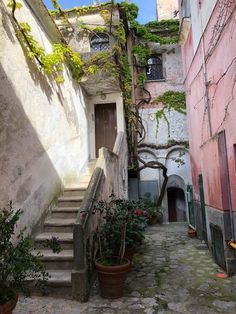 Amalfi, Vines, Ravello Italy, My Photos, Architecture, Garden Ideas, Arquitetura, Landscaping Ideas, Arbors