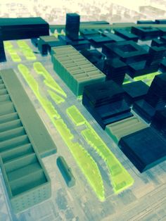Parallels - an exhibition of urban propositions for Liverpool and Marseille featuring concepts by Architecture and Urban Design Masters students. Liverpool School of Art and Design 19-30 January 2015