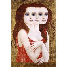 COMPLICATED LADY i Margaret Keane