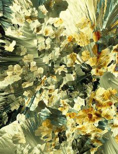 Serotonin crystals