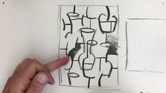 Drawing in the Cubist Style at Greg Storer Art