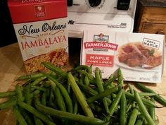 Dollar Store Dinner | Green Bean Jambalaya Rice - YouTube Cheap Meals To Make, Food To Make, Jambalaya Rice, Meals For Three, 30 Minute Meals, Recipe Collections, Budget Meals, Dollar Tree, Easy Dinner Recipes