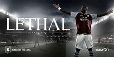 I'm not the ideal Aston Villa FC fan! But I love the artworks! Beautiful =)