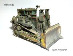 D9R Armored Bulldozer