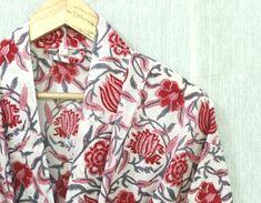 Cotton Kimono, Floral Kimono, Cotton Fabric, Cotton Bag, Winter Kimono, Kimono Design, Night Wear, Night Suit, Pajamas Women