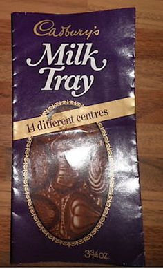 Am I the only person to remember this! The content of a Milk Tray chocolate box on a chocolate bar......14 different centres.....had to eat around the turkish delight one......but apart from that ace!