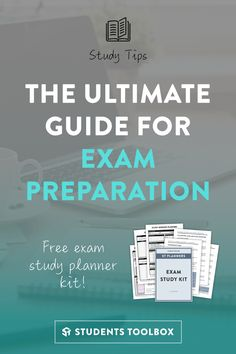 In need of some effective study tips and systems for your exam preparation? This is a comprehensive guide with all the study skills and exam strategies for you, along with a free exam study planner kit!