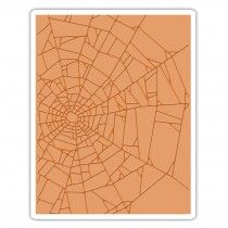 Sizzix Texture Fades Embossing Folder - Cobwebs
