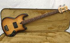 Wal Pro 1 1982 Burst Bass For Sale Andy Baxter Bass & Guitars Ltd