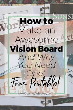 How to make an awesome vision board and why you ne…Edit description (scheduled via http://www.tailwindapp.com?utm_source=pinterest&utm_medium=twpin)