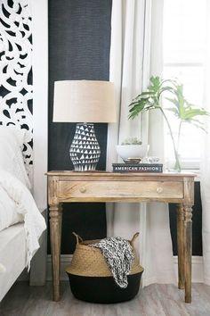 Stylish bedside table