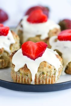 Blueberry & Zucchini Grain-free Scones