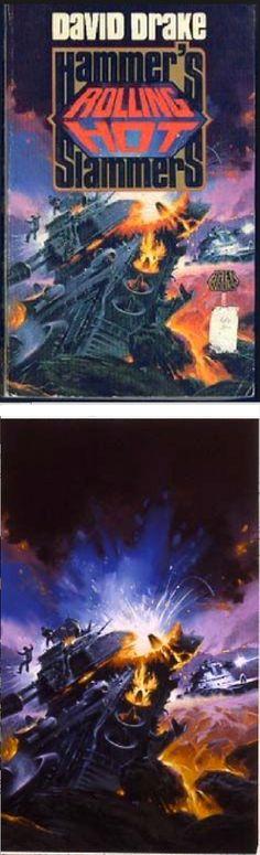 PAUL ALEXANDER - Rolling Hot by David Drake - 1989 Baen Books