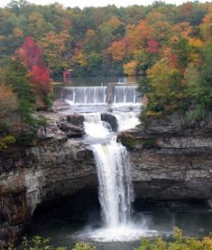 "DeSoto Falls - Mentone, Alabama- Thinking we need to take a trip ""up north"" in the fall. The linked website is an awesome guide for touring Alabama!"