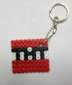 Minecraft TNT Key Chain Perler Bead Art | eBay