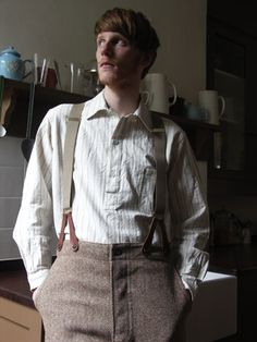 Pull-On Shirt - Old Town Clothing - classic British workwear - Holt, Norfolk, England