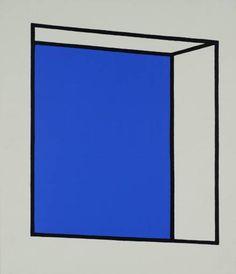 Patrick Caulfield 'Small Window', 1969 © The estate of Patrick Caulfield. All Rights Reserved, DACS 2015 Art Design, Graphic Design, Pop Art, Ligne Claire, Small Windows, Arte Popular, Art Database, Photorealism, Claes Oldenburg