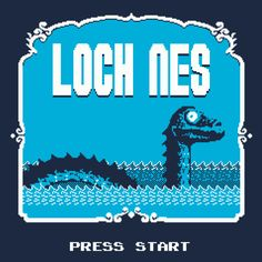 Loch NES By Karlangas, today at The Yetee!