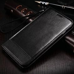 Luxury Business Leather Wallet With Stand Case For Samsung Galaxy S6 S6edge Plus S7 S7edge Phone Bag Cover Coque Card 2 Slots