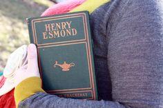 Vintage Book Clutch  Book Purse  Henry Esmond by от ConduitPress