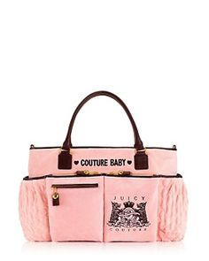 of course i'll have a juicy diaper bag & my children will own tons of juicy.. i already buy it for becky's girls lol <3