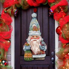 Old World Christmas Santa Decorative Holiday by GDeBrekhtGallery