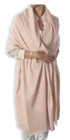 Oversized Cashmere Wrap by Catherine Robinson www.catherinerobinsoncashmere.com