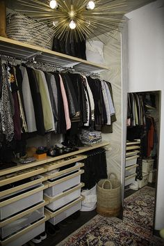 7 Lessons From A Fashion Designer S Closet Every Girl Can Use Organization Ideasjewelry Organizationelfa