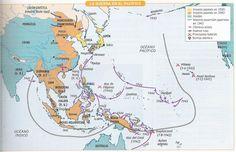 Mapa IIGM Pacífico