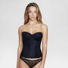 Dominique Women's Lace Corset Bridal Bra #8949 - Black