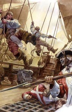 Pirates Boarding