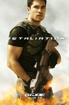 new character poster for Flint from #GIJoe2