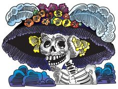 la calavera catrina | In Which an Old Man Cloaked in La Calavera Catrina Engages in Dialogue ...