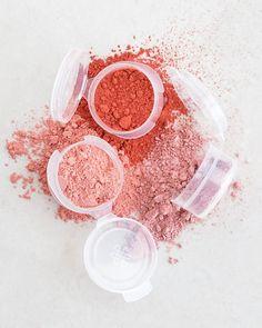 Loose Powder Blush (11 Shades) - Titanium Dioxide-Free, Mica-Free ...