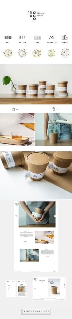 rhoeco sustainable tea packaging design by We design - http://www.packagingoftheworld.com/2017/01/rhoeco.html