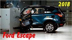 Фронтальный краш тест Ford Escape 2018