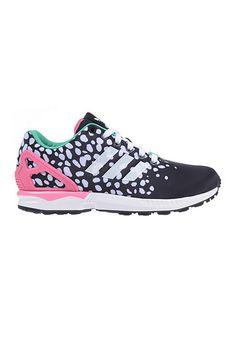 e1f3dc9f12b39 adidas Originals ZX Flux - Sneaker für Damen - Schwarz