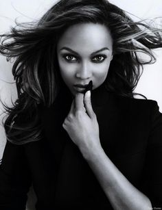 Tyra Banks is such an inspiration to young women who are dealing with insecurities with their bodies. She has overcome so many hurdles. That is why I think she is so wonderful!