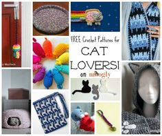 Free #crochet patterns for Cat Lovers! ♥ Roundup on Mooglyblog.com free pattern, knit cat toy, crochet patterns, cat lovers, pattern roundup